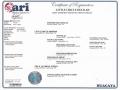 Delilah-ari certificate